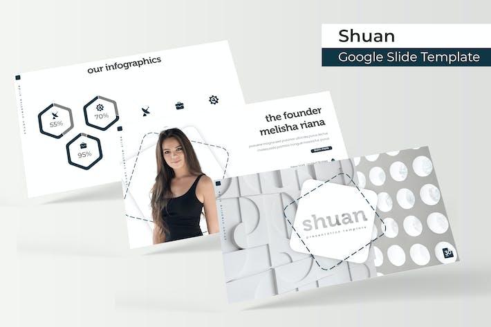 Thumbnail for Shuan - Plantilla de Presentación de Google