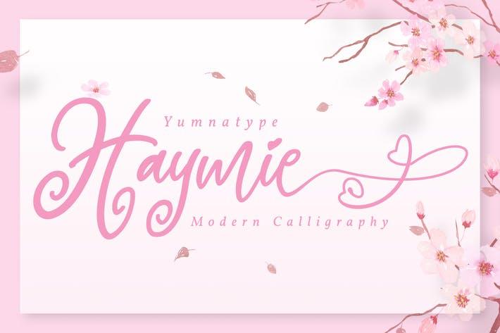Haymie - Fuente de escritura divertida