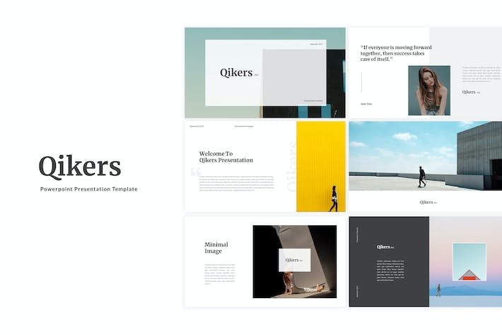 Thumbnail for Qikers Powerpoint Template