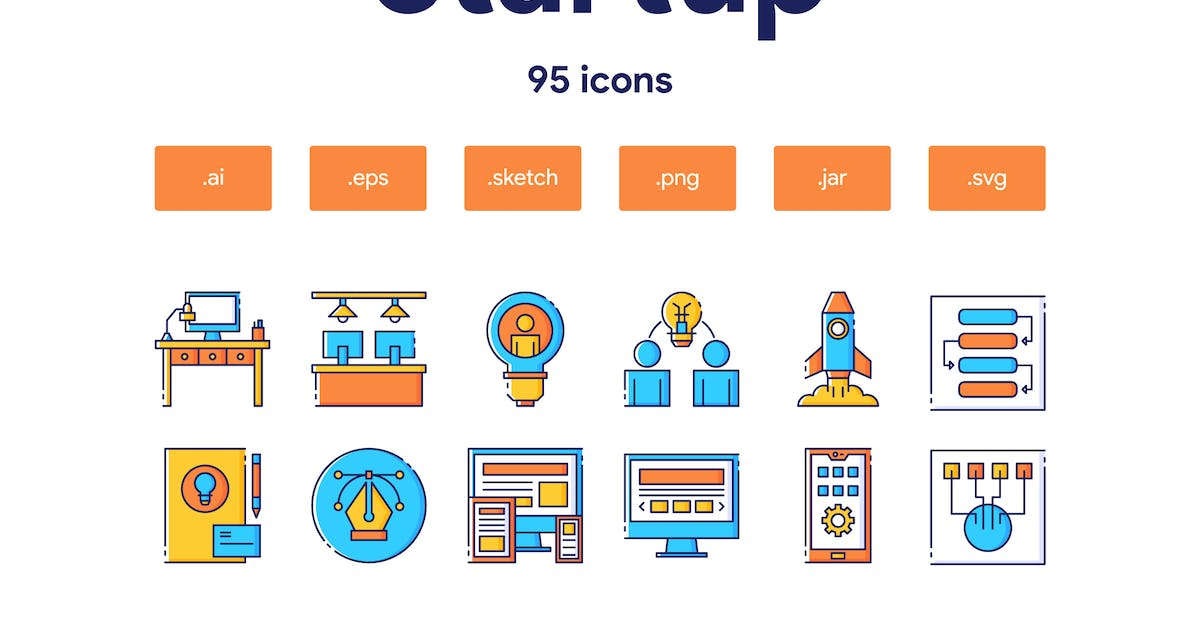 Download Startup Icon Set by TanahAirStudio