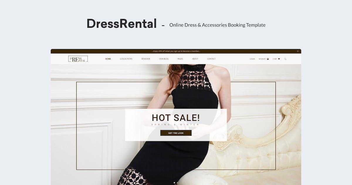Download DressRental - Online Dress & Accessories Booking T by redqteam