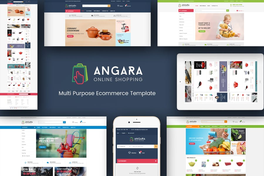 Angara - Responsive Prestashop Theme