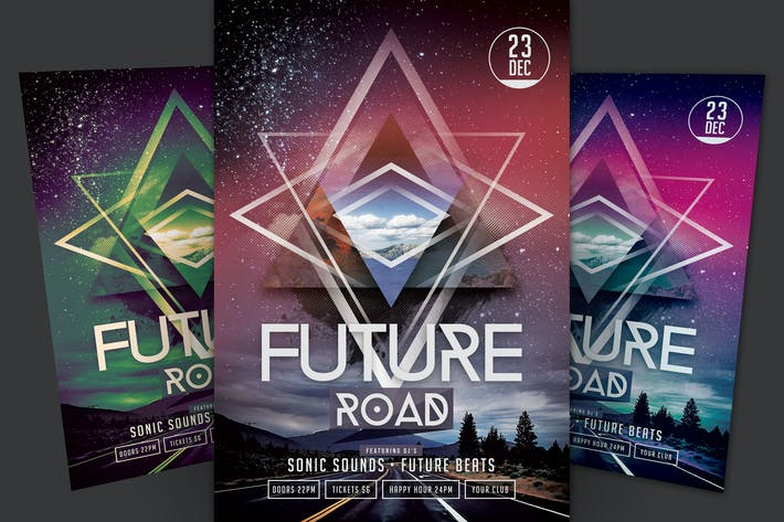 Thumbnail for Future Road Flyer