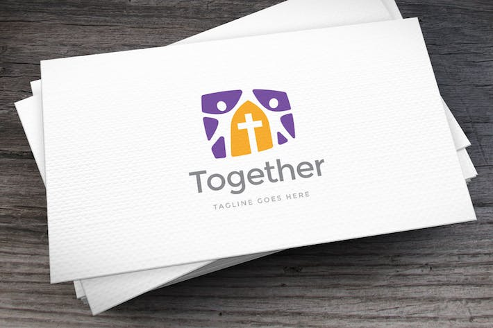 Thumbnail for Together Logo Template