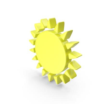 Sunny Meteorology Symbol