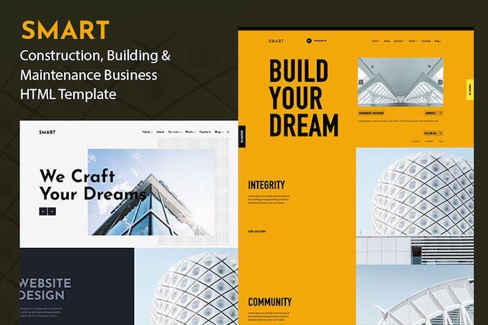 SMART - Creative Corporate Agency Template