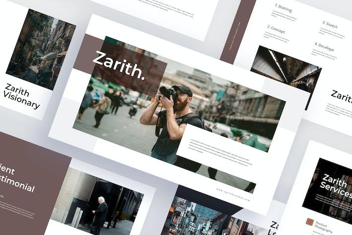 Zarith - Уличная фотография Powerpoint Шаблон