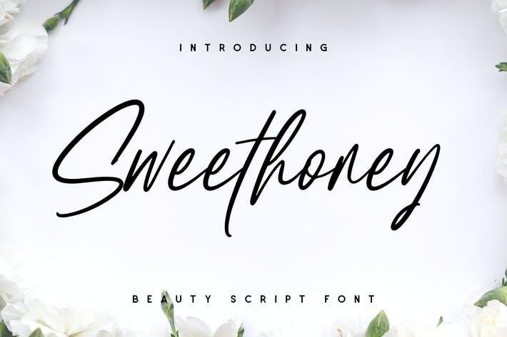 Sweethoney Signature Font