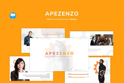 Apezenzo - Business Keynote Template