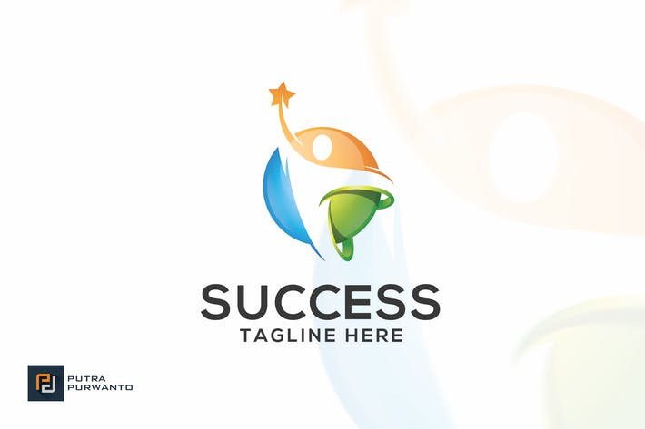 Thumbnail for Success / People - Logo Template