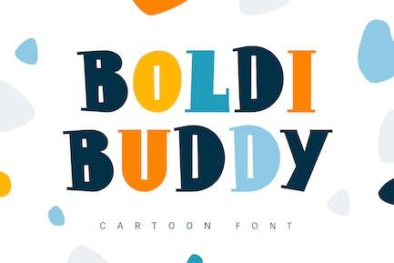 Boldi Buddy | fuente de dibujos animados