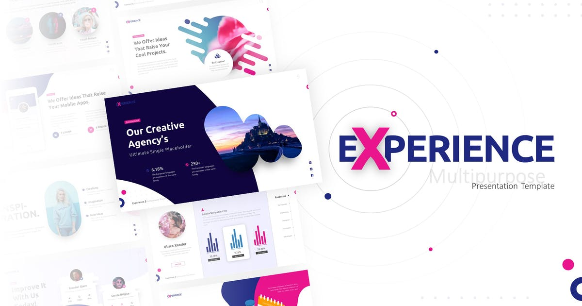 Download Experience Multipurpose PowerPoint Template by RRgraph