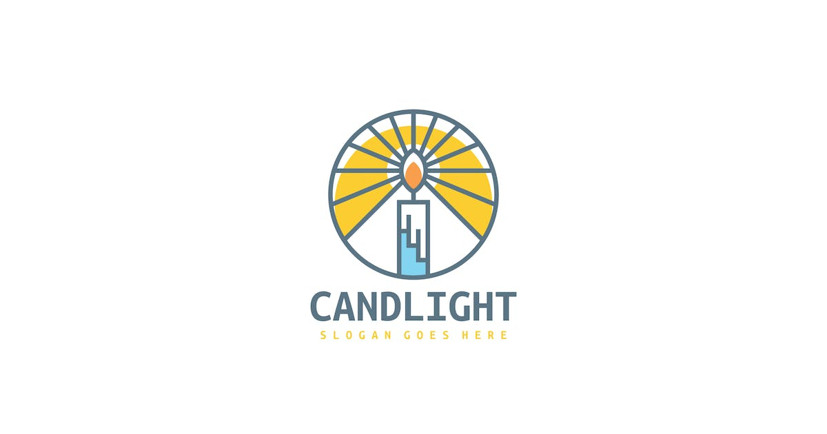 Download Candle Light Logo by 3ab2ou