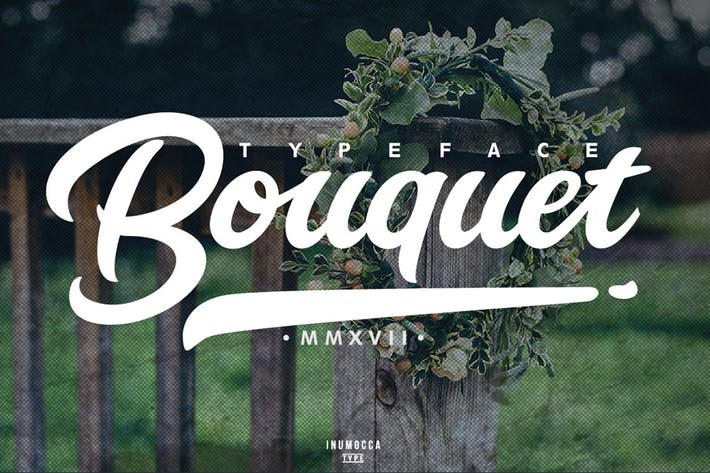 Cover Image For Bouquet Typeface