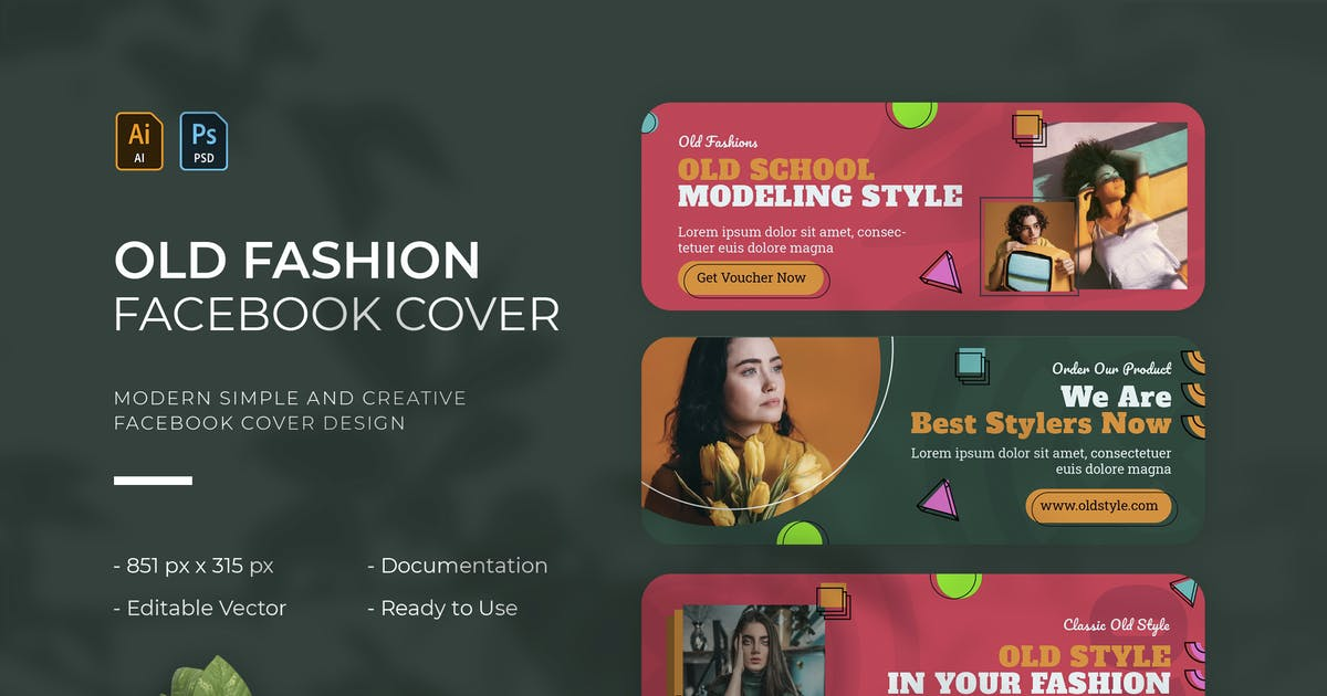 Download Old Fashions   Facebook Cover by Vunira
