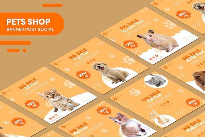 Thumbnail for Pets Shop Banner