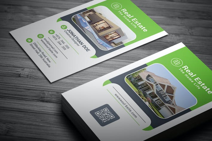 Cover Image For Real Estate Business Card