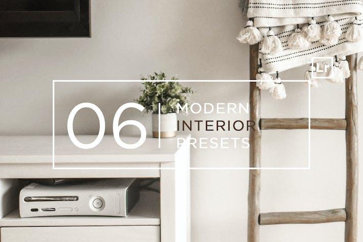 Thumbnail for 6 Modern Interior Lightroom Presets