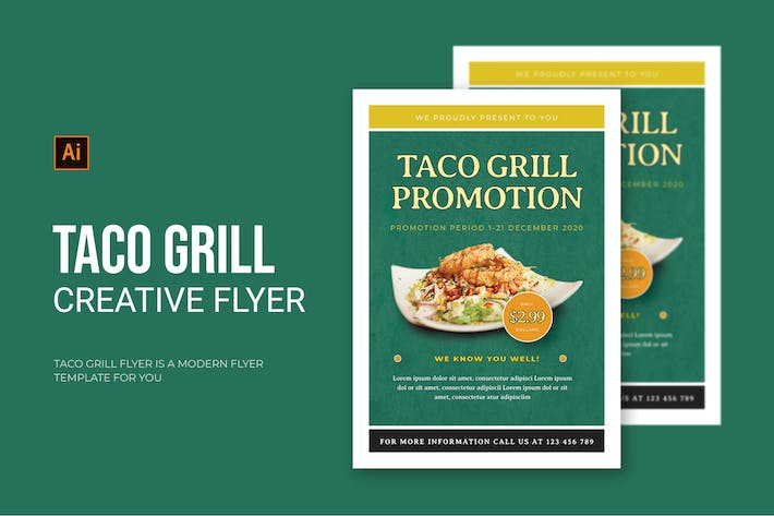 Taco Grill - Flyer