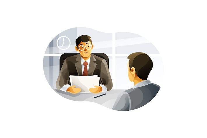 Thumbnail for Human resource managers interview job applicants