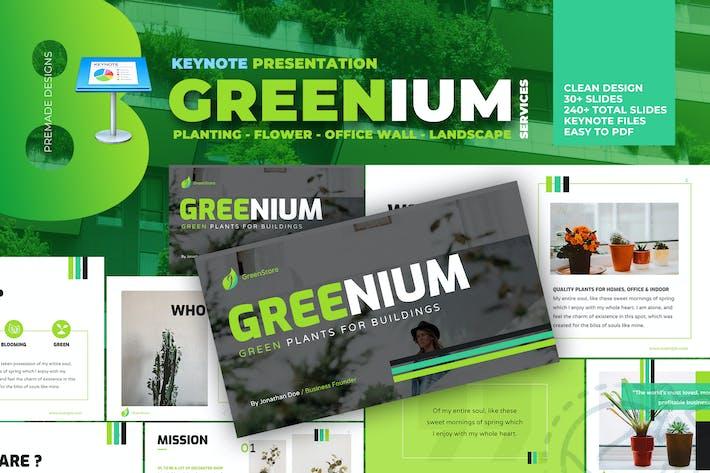 Thumbnail for Greenium - Planting Services Keynote
