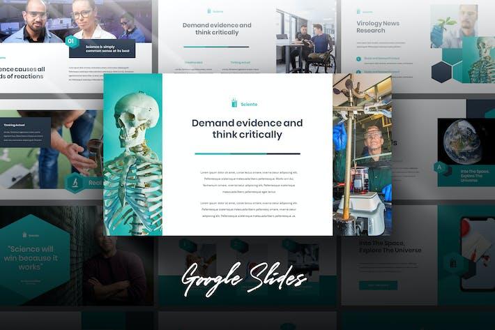 Sciente - Medical Science Lab Google Slides