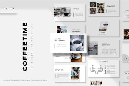 Coffe Time - Google Slide Template