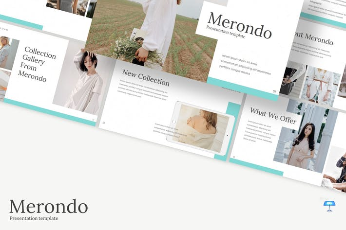 Thumbnail for Merondo - Keynote Template