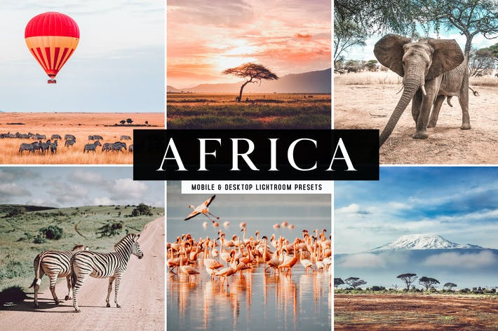 Thumbnail for Africa Mobile & Desktop Lightroom Presets