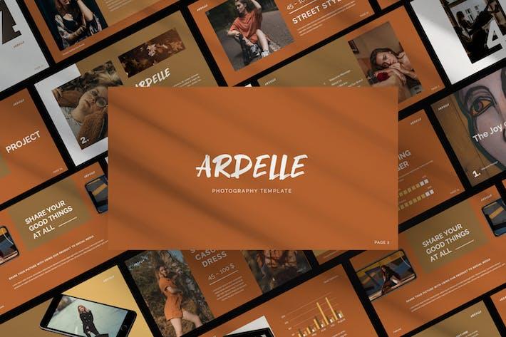Thumbnail for Ardelle Brand Business Google Slide
