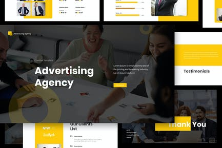 Advertising Agency Google Slides Presentation