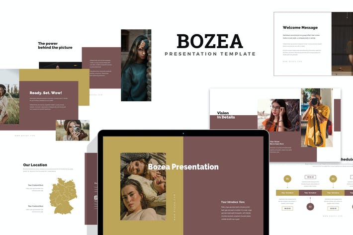 Bozea: Модели и Моды Фотография Keynote