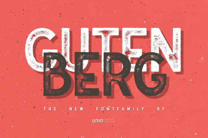 Thumbnail for Gutenberg - Familia de Fuentes