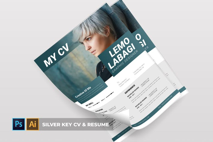 Thumbnail for Silver Key | CV & Resume