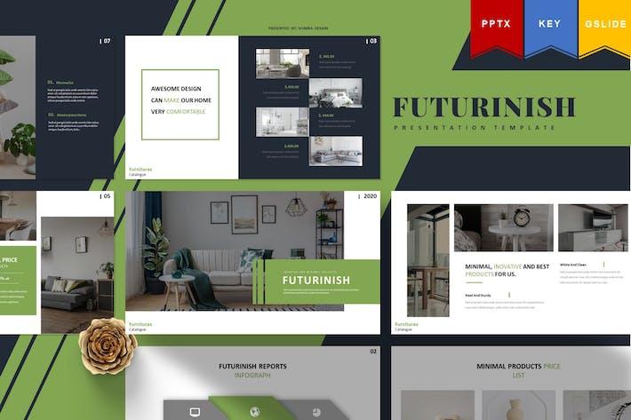 Thumbnail for Futurinish | Powerpoint, Keynote, Googleslides