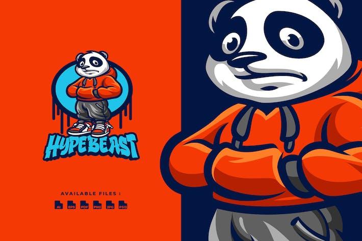 Thumbnail for Логотип персонажа Panda Гипзверя
