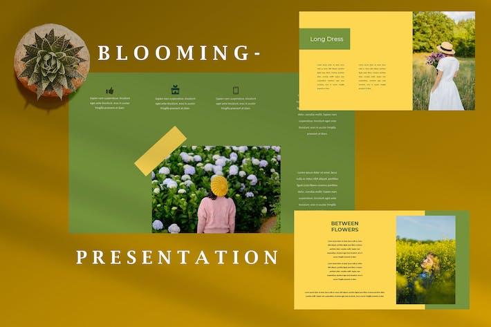 Blooming Natural - Creative Keynote Template