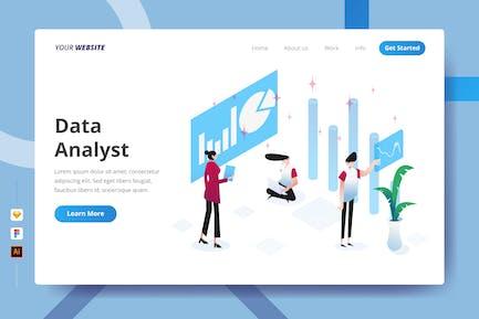 Data Analyst - Landing Page