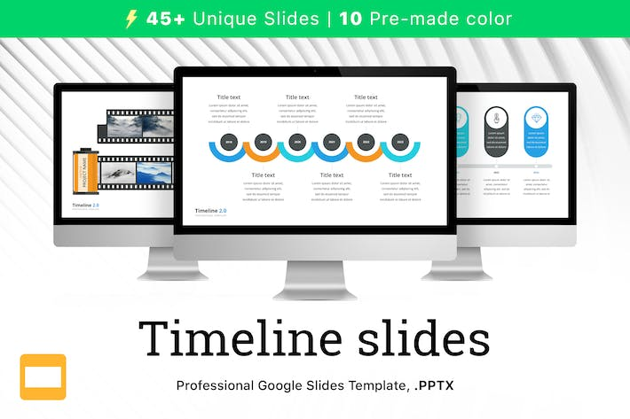 Thumbnail for Timeline 2.0 for Google Slides