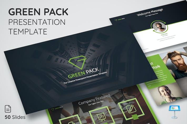 Green Pack - Keynote Presentation Template
