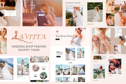 Lavitta - Wedding Shop Fashion Shopify Theme