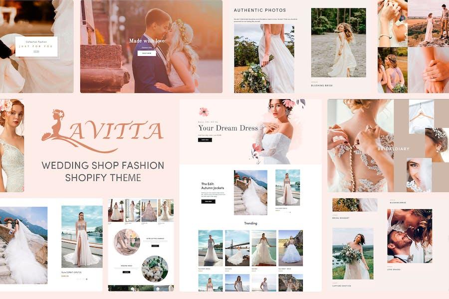 Lavitta - Wedding Shop Fashion Shopify Tema