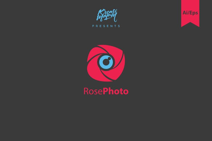 Thumbnail for Rose Photo Logo Template