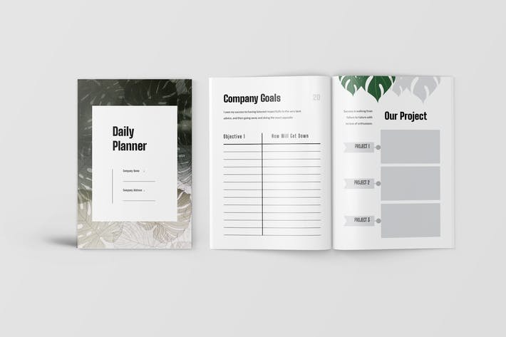 Thumbnail for Daily Planner Workbook