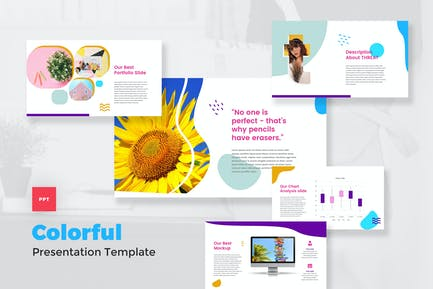 Colorful & Pop Art PowerPoint Template