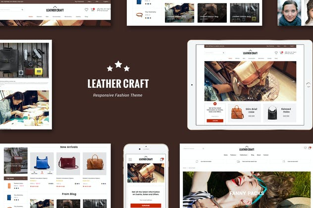 Leather - Responsive Fashion Shopify Theme