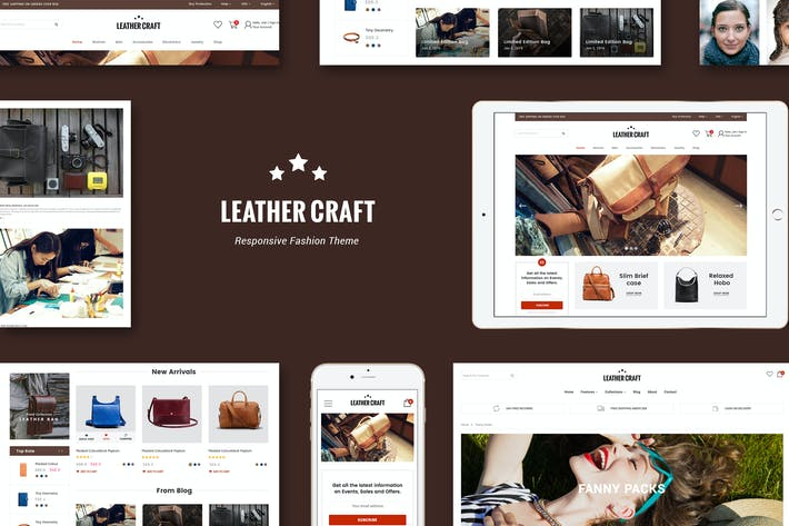 Thumbnail for Leather - Responsive Fashion Shopify Theme