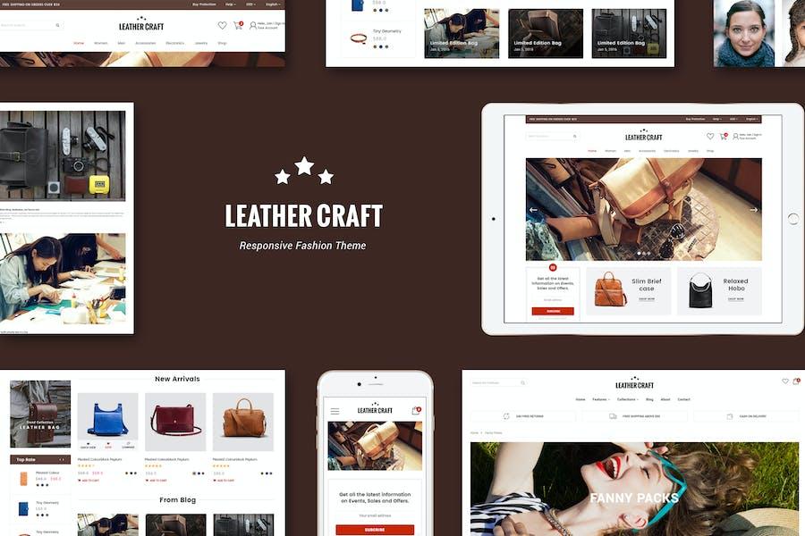 Cuero - Responsivo Fashion Shopify Tema