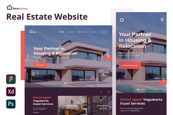 Real Estate - Real Estate Website