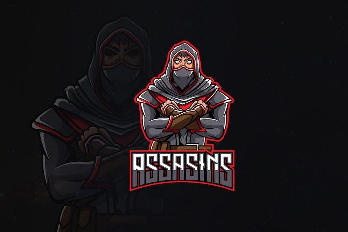 Thumbnail for Assasins - Character Mascot & Esport Logo V.2
